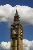 Big Ben, in the clouds. Westminster Parliament. London. - Jess Hurd - 12-05-2014