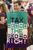 Tax the Rich People Assembly demonstration against austerity and the Coalition Government. London. - Jess Hurd - 21-06-2014