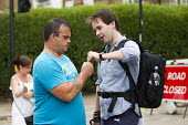 NUJ member is threatened and has his name taken from his press card. South East Alliance, assorted far right coalition are stopped from marching through Cricklewood by anti fascists. The Alliance were... - Jess Hurd - 14-06-2014