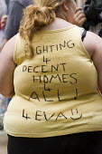 Social Housing Not Social Cleansing - Homes For All campaign march through Newham, East London. - Jess Hurd - 05-07-2014