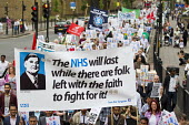 The NHS will last while there are folk left with the faith to fight for it! Quote from Nye Bevan. Tower Hamlets Deputy Mayor Oliur Rahman leads Save Our Surgeries march against the closure of GP pract... - Jess Hurd - 05-07-2014
