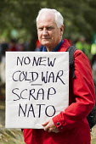 No New Cold War, Scrap Nato. No NATO Newport, Stop the War protest. South Wales. - Jess Hurd - 30-08-2014