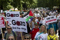 National Demonstration for Gaza. London. - Jess Hurd - 09-08-2014