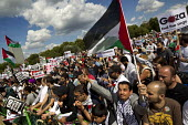 National Demonstration for Gaza. Hyde Park, London. - Jess Hurd - ,2010s,2014,activist,activists,CAMPAIGN,campaigner,campaigners,CAMPAIGNING,CAMPAIGNS,DEMONSTRATING,Demonstration,DEMONSTRATIONS,flag,flags,palestine solidarity campaign,palestinian,palestinians,Protes