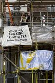 Reclaim The Power day of action. Anti Fracking protesters lock and glue themselves to the DEFRA building demanding that a redacted fracking report is published in full following a Freedom of Informati... - Jess Hurd - 2010s,2014,activist,activists,against,building,BUILDINGS,CAMPAIGN,campaigner,campaigners,CAMPAIGNING,CAMPAIGNS,civil disobedience,DEMONSTRATING,Demonstration,DEMONSTRATIONS,FEMALE,Frack,Frack Off,Frac