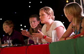 All work and low pay. TUC Youth Forum. Lauren Usher TUC, Lucille Harvey Unite, Greta Holmes Unison, Suzanna Antubam NUS, Grace Van Zyl Member of Youth Parliament and Crystal Lilly Mills, Dorset youth... - Jess Hurd - 19-07-2014