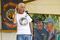 Ivan Monkton, Unite Agricultural NEC member. Tolpuddle Martyrs Festival. Dorset. - Jess Hurd - 19-07-2014