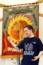 Owen Jones. Tolpuddle Martyrs Festival. Dorset. - Jess Hurd - 19-07-2014