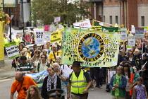 The People's Climate March. Labour Party Conference, Manchester. - Jess Hurd - 2010s,2014,activist,activists,against,anti,CAMPAIGN,campaigner,campaigners,CAMPAIGNING,CAMPAIGNS,Climate Change,Conference,conferences,DEMONSTRATING,demonstration,DEMONSTRATIONS,environment,environmen
