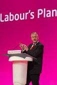 Hilary Benn MP. Labour Party Conference, Manchester. - Jess Hurd - 21-09-2014