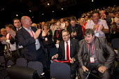 Len McCluskey Unite gets a standing ovation. Labour Party Conference, Manchester. - Jess Hurd - ,2010s,2014,applauding applause,Conference,conferences,labour party,Len McCluskey,member,member members,members,Party,people,pol politics,Trade Union,Trade Union,Trade Unions,Trades Union,Trades Union