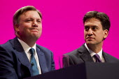 Ed Balls MP and Ed Miliband MP. Labour Party Conference, Manchester. - Jess Hurd - ,2010s,2014,Balls,Conference,conferences,Labour Party,Party,pol,political,POLITICIAN,POLITICIANS,politics