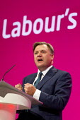 Ed Balls M. Labour Party Conference, Manchester. - Jess Hurd - ,2010s,2014,Balls,Conference,conferences,Labour Party,Party,pol,political,POLITICIAN,POLITICIANS,politics,SPEAKER,SPEAKERS,speaking,SPEECH