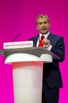 John Hannett, Usdaw. Labour Party Conference, Manchester. - Jess Hurd - 22-09-2014