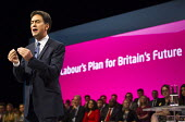 Ed Miliband MP, leaders speech. Labour Party Conference, Manchester. - Jess Hurd - 23-09-2014