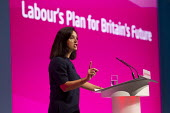 Caroline Flint MP. Labour Party Conference, Manchester. - Jess Hurd - 23-09-2014
