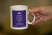 Keep Calm UKIP are Coming Mugs. UKIP Annual Conference, Doncaster. - Jess Hurd - ,2010s,2014,brand,branding,Conference,conferences,eurosceptic,Euroscepticism,eurosceptics,mug,mugs,nationalism,nationalist,nationalists,pol,political,POLITICIAN,POLITICIANS,politics,UK Inderpence Part