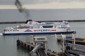 MyFerryLink ro ro ferry arriving at the Eastern Docks. Port of Dover, Kent. - Jess Hurd - 2010s,2014,ARRIVAL,arrivals,arrive,arrived,arrives,arriving,boat,boats,bunker fuel,c02,cargo,Cross Channel Ferry,degradation,diesel,dirty,disembark,disembarkation,disembarking,dock,docks,dockside,DRIV