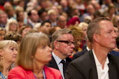 Michael Gove MP during Nicky Morgan speech. Conservative Party Conference, The ICC Birmingham - Jess Hurd - 30-09-2014