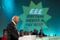 Mohammad Taj, TUC President and Unite member. TUC, Liverpool. - Jess Hurd - 07-09-2014