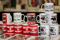 Anti Tory, anti austerity, anti Daily Mail mugs. TUC, Liverpool. - Jess Hurd - 08-09-2014