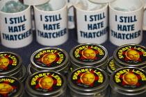 Anti Thatcher mugs. TUC, Liverpool. - Jess Hurd - 08-09-2014
