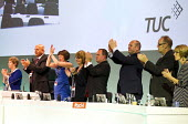 Standing ovation to the memory of Bob Crow, RMT. TUC, Liverpool. - Jess Hurd - 10-09-2014