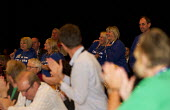 Care UK strikers get a standing ovation. TUC, Liverpool. - Jess Hurd - 08-09-2014