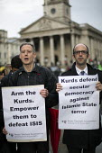 Peter Tatchell calls for the arming of Kurds to fight ISIS. Kurds protest in support Kobane against ISIS attack, Trafalgar Square. - Jess Hurd - 2010s,2014,activist,activists,against,anti,attack,attacking,CAMPAIGN,campaigner,campaigners,CAMPAIGNING,CAMPAIGNS,DEMONSTRATING,Demonstration,DEMONSTRATIONS,ISIS,ISLAM,ISLAMIC,kurd,kurdish,kurds,Londo