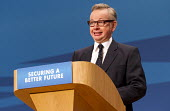 Michael Gove MP. Conservative Party Conference, The ICC Birmingham - Jess Hurd - 01-10-2014