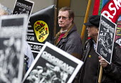 Orgreave Truth and Justice Campaign hold a demonstration at the office of the Independent Police Complaints Commission. Campaigners are angry with delays to the investigation into allegations of viole... - Jess Hurd - 14-11-2014