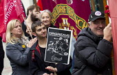 Orgreave Truth and Justice Campaign protest at the office of the Independent Police Complaints Commission. Campaigners are angry with delays to the investigation into allegations of violent policing a... - Jess Hurd - 14-11-2014