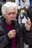 Granville Williams (CPBF) speaking Orgreave Truth and Justice Campaign protest at the office of the Independent Police Complaints Commission. Campaigners are angry with delays to the investigation int... - Jess Hurd - 14-11-2014