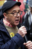 Mike Jackson co-founder of Lesbians and Gays Support the Miners. Orgreave Truth and Justice Campaign protest at the office of the Independent Police Complaints Commission. Campaigners are angry with d... - Jess Hurd - 14-11-2014