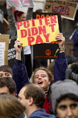 Harry Potter didn't pay.. Thousands of students march against debt and for free education. London. - Jess Hurd - 19-11-2014