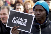 Je suis Charlie Hebdo unity march after the shooting of cartoonists in the attack on the Charlie Hebdo magazine offices, Paris. - Jess Hurd - 2010s,2015,activist,activists,attack,attacking,BAME,BAMEs,black,BME,bmes,CAMPAIGN,campaigner,campaigners,CAMPAIGNING,CAMPAIGNS,child,CHILDHOOD,children,cultural,DEMONSTRATING,Demonstration,DEMONSTRATI