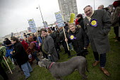 Stand up to UKIP protest outside UKIP Spring Conference. Margate, Kent. - Jess Hurd - 2010s,2015,activist,activists,Anti Racism,anti racist,CAMPAIGN,campaigner,campaigners,CAMPAIGNING,CAMPAIGNS,DEMONSTRATING,Demonstration,DEMONSTRATIONS,eurosceptic,Euroscepticism,eurosceptics,Margate,o