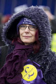 Stand up to UKIP protest outside UKIP Spring Conference. Margate, Kent. - Jess Hurd - 28-02-2015