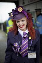 UKIP member. UKIP Spring Conference. Margate, Kent. - Jess Hurd - 2010s,2015,age,ageing population,elderly,eurosceptic,Euroscepticism,eurosceptics,FEMALE,Margate,old,older,people,person,persons,POL,political,POLITICIAN,POLITICIANS,Politics,Spring,UK Independence Par
