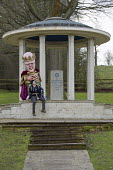 Defend the Magna Carta. Justice Alliance, Relay for Rights along the Thames from Runnymede, the birthplace of the Magna Carta to the Global Law Summit. Against cuts to legal aid. Surrey. - Jess Hurd - 21-02-2015