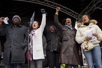 Weyman Bennett UAF, Carol Duggan, Janet Alder and Marcia Rigg. Stand up to racism & fascism, national demonstration. London. - Jess Hurd - 2010s,2015,activist,activists,Anti Fascist,Anti Racism,anti racist,BAME,BAMEs,black,BME,bmes,CAMPAIGN,campaigner,campaigners,CAMPAIGNING,CAMPAIGNS,cultural,DEMONSTRATING,Demonstration,DEMONSTRATIONS,d