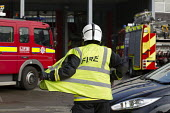 Road Traffic Accident training with White Watch at Paddington Fire Station. London. - Jess Hurd - 17-03-2015