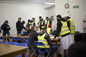 As-suffa Institute an Islamic community organisation, the Birmingham Food Drive, providing a hot meal and a friendly environment for homeless and vulnerable people. Birmingham City Centre. - Jess Hurd - 13-02-2015