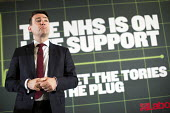 Andy Burnham MP speaking, Launch of NHS week, including new analysis of Conservative plans, a poster launch and Q&A, London. - Jess Hurd - 20-04-2015