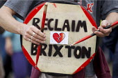 A Gathering to Reclaim Brixton. Against gentrification and regeneration that does not benefit the existing community. South London. - Jess Hurd - 25-04-2015