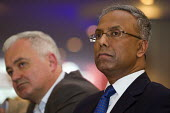 Lutfur Rahman and Andrew Murray. Defend Democracy in Tower Hamlets. Community leaders speak out against the removal of Tower Hamlets, Mayor Lutfur Rahman and the banning of his organisation. East Lond... - Jess Hurd - ,1st,2010s,2015,activist,activists,against,BAME,BAMEs,Bengali,black,BME,bmes,CAMPAIGN,campaigner,campaigners,CAMPAIGNING,CAMPAIGNS,communities,Community,council,COUNCILER,COUNCILERS,councillor,council