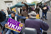 UKIP election campaigning for Nigel Farage and the No UKIP campaigners. Thanet. - Jess Hurd - 2010s,2015,BAME,BAMEs,black,BME,bmes,campaign,campaigning,CAMPAIGNS,CANVASING,canvassing,communicating,communication,cultural,DEMOCRACY,Diaspora,disabilities,disability,disable,disabled,disablement,di