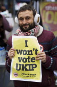 UKIP election campaigning for Nigel Farage and the No UKIP campaigners. Thanet. - Jess Hurd - 2010s,2015,activist,activists,against,anti,Anti Racism,anti racist,BAME,BAMEs,Black,BME,bmes,campaign,campaigner,campaigners,campaigning,CAMPAIGNS,DEMOCRACY,DEMONSTRATING,demonstration,DEMONSTRATIONS,