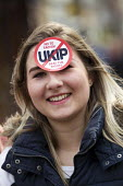 No to UKIP campaigners, campaigning against Nigel Farage. Thanet. - Jess Hurd - 2010s,2015,activist,activists,adolescence,adolescent,adolescents,against,anti,Anti Racism,anti racist,campaign,campaigner,campaigners,campaigning,CAMPAIGNS,DEMOCRACY,DEMONSTRATING,Demonstration,DEMONS