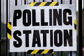 General Election. Tower Hamlets Polling Station. East London. - Jess Hurd - 2010s,2015,democracy,election,elections,General Election,people,POL,political,POLITICIAN,POLITICIANS,Politics,Polling Station,vote,VOTES,voting